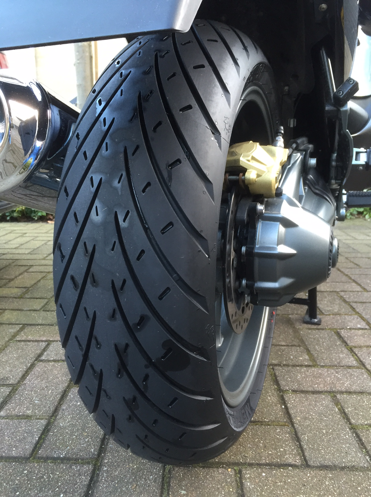 New Metzeler Roadtec 01 Mounted On My Bmw R1200rt Tour